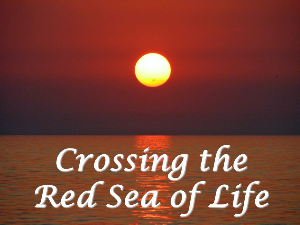 Crossing the Red Sea of Life