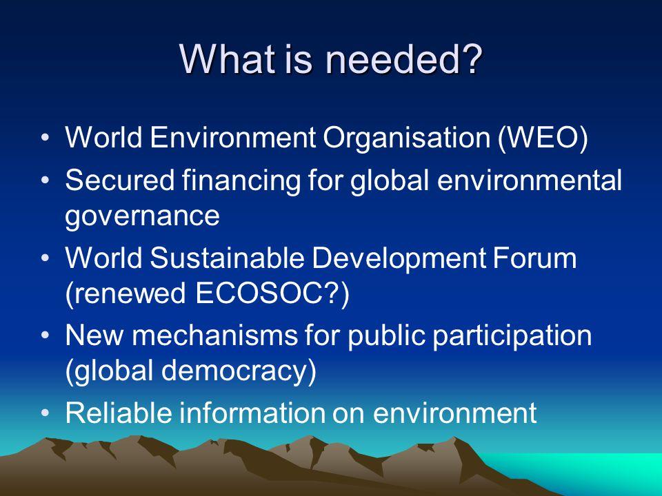 After Johannesburg The way to sustainable development Pekka
