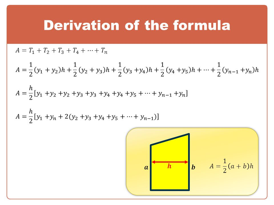Derivation of the formula