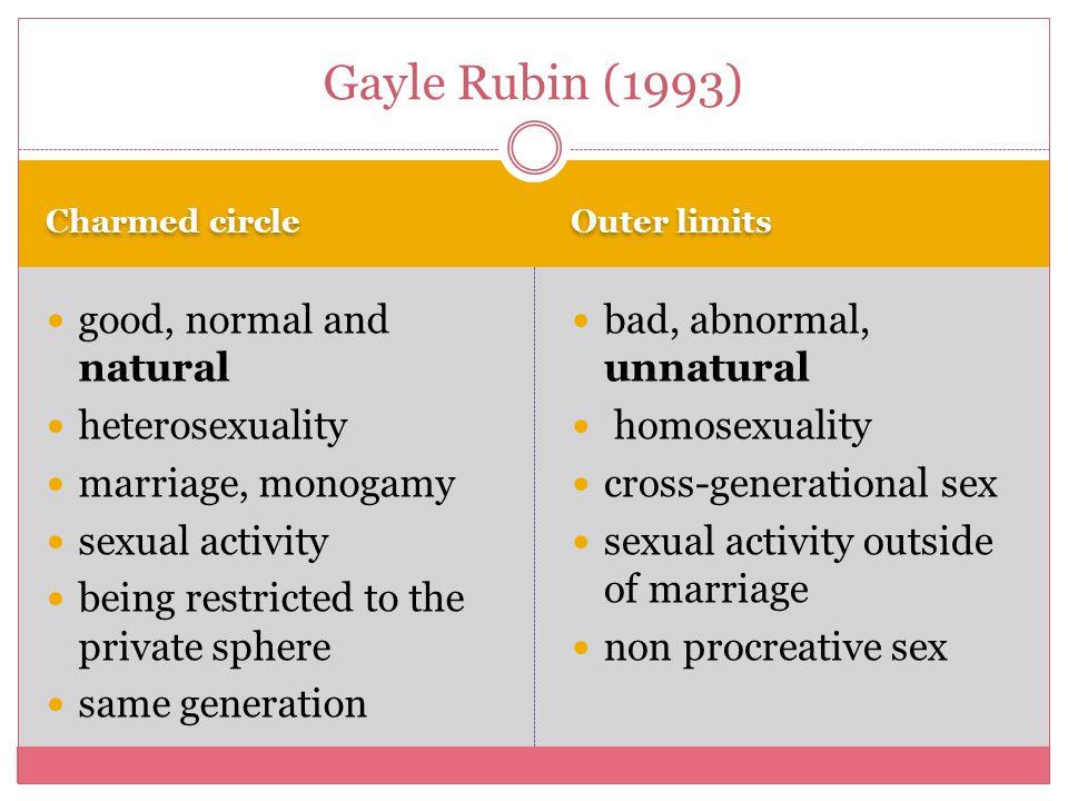 Cross generational sexuality