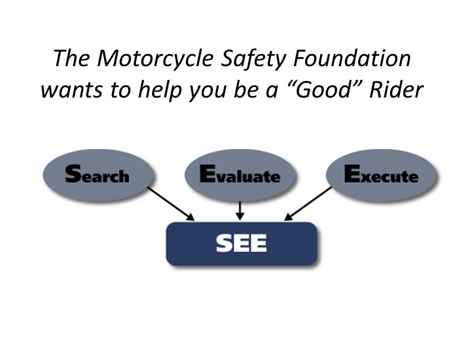 The Motorcycle Safety Foundation wants to help you be a Good Rider
