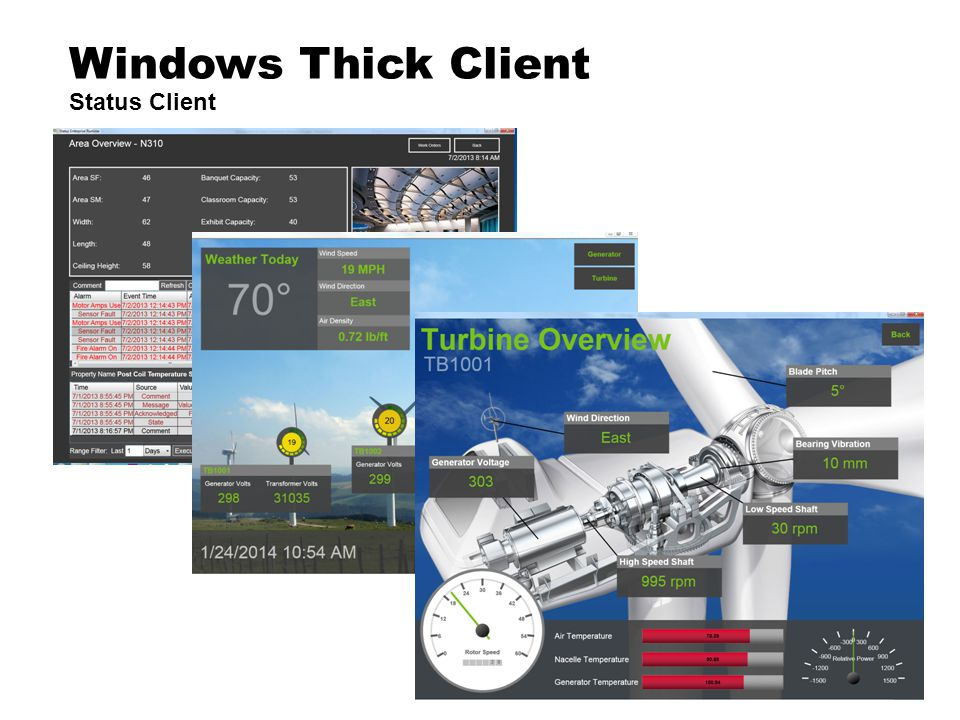 Windows Thick Client Status Client