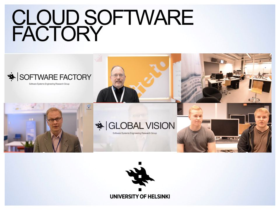 CLOUD SOFTWARE FACTORY