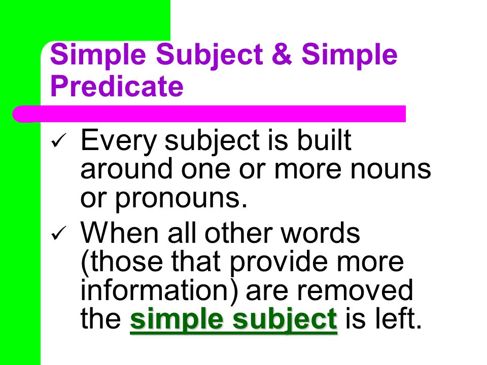 predicate Can you find the predicate in each sentence.