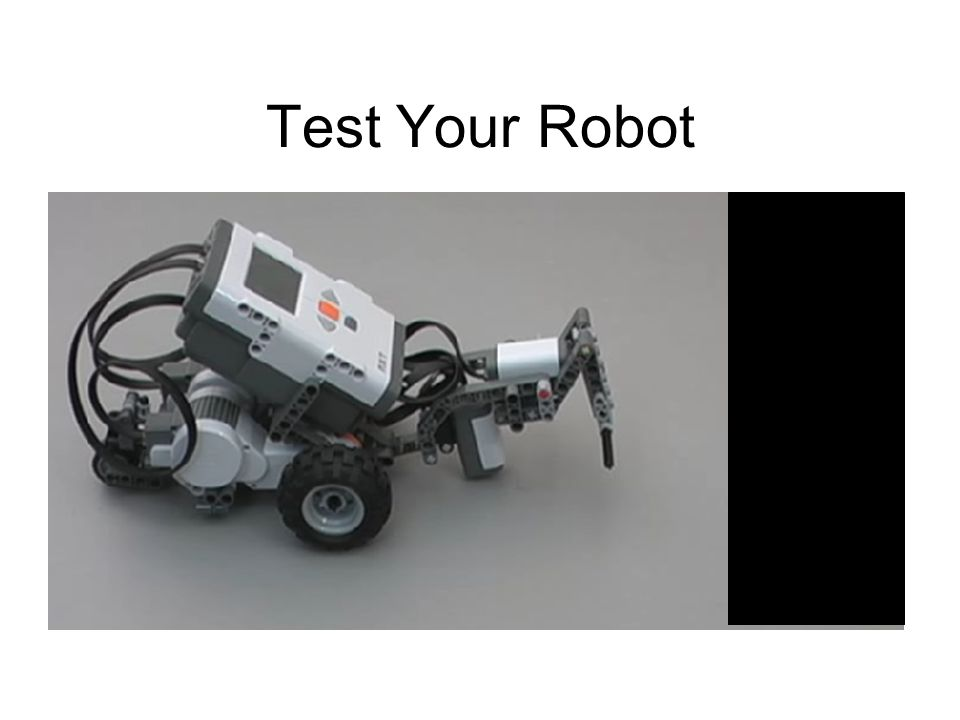 Test Your Robot