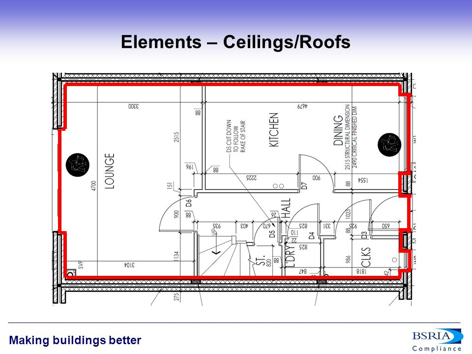 11 Making buildings better Elements – Ceilings/Roofs