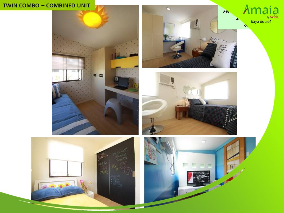 SECOND FLOOR: ENTERTAINMENT ROOM, 2 KIDS' BEDROOMS & GUEST ROOM TWIN COMBO – COMBINED UNIT