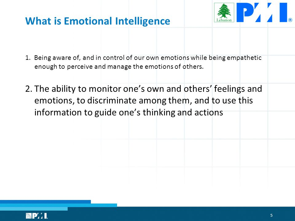 5 What is Emotional Intelligence 1.