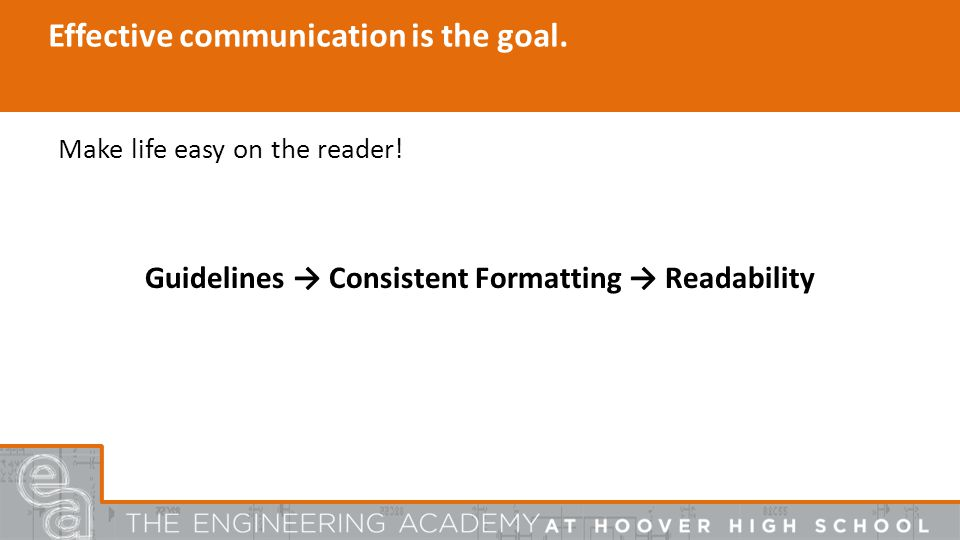 Effective communication is the goal. Make life easy on the reader.