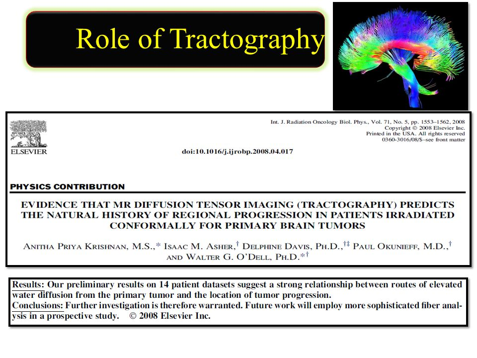 Role of Tractography