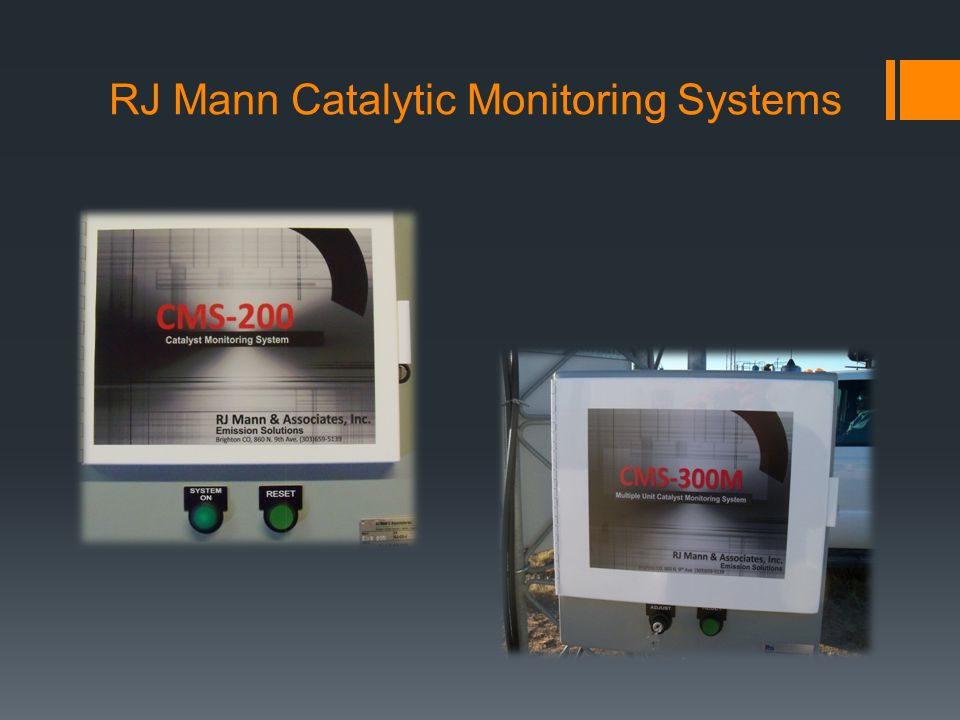 RJ Mann Catalytic Monitoring Systems