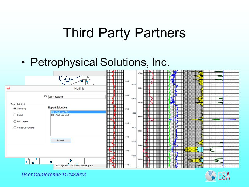 Third Party Partners Petrophysical Solutions, Inc. User Conference 11/14/2013