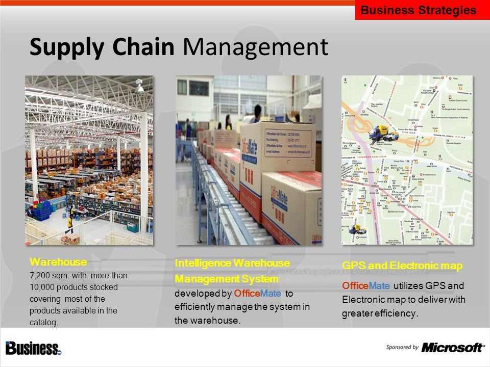 Supply Chain Management Warehouse 7,200 sqm.