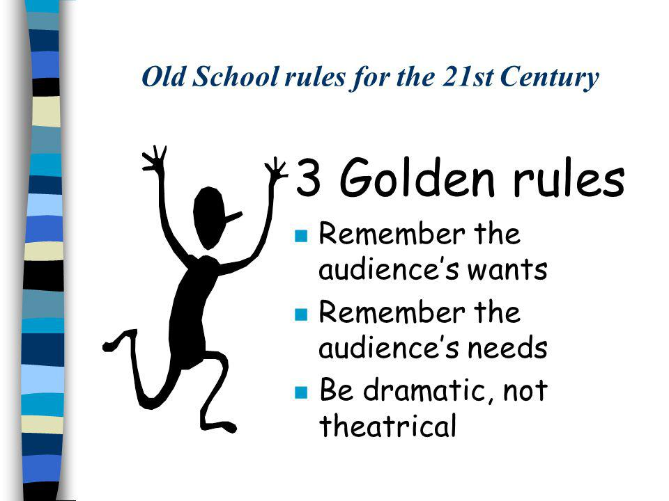 Old School rules for the 21st Century DO: 1.Bring books with you/check them out 2.Memorize talks/have cheat sheets 3.Vary the themes/types of talks 4.Keep good records of visits 5.Be prepared to ad-lib and interact 6.Vary length of talks 7.Let the books do the work 8.Be organized, cool and confident 10.Relax and enjoy