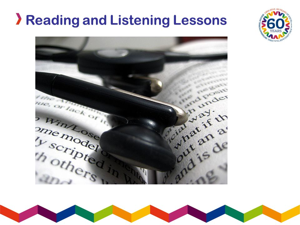 Reading and Listening Lessons