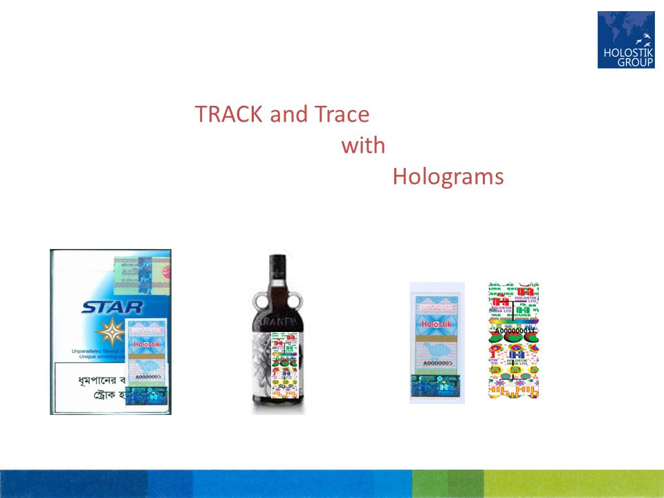 TRACK and Trace with Holograms
