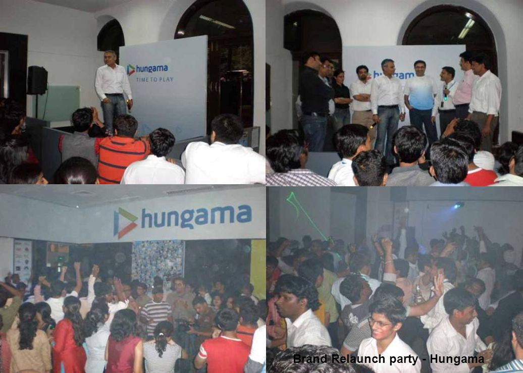 Brand Relaunch party - Hungama