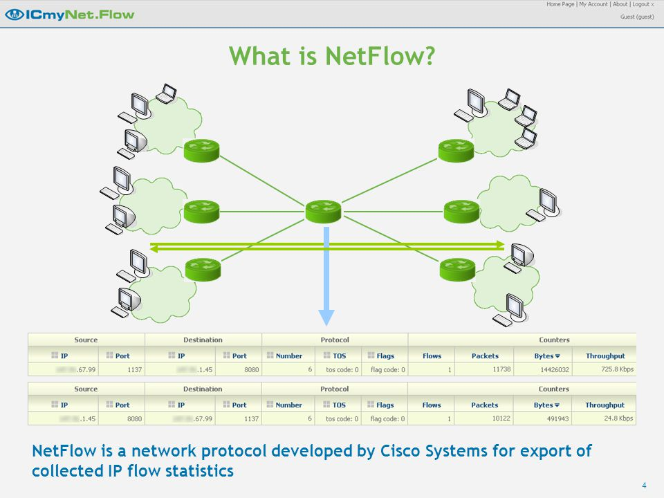 4 What is NetFlow.