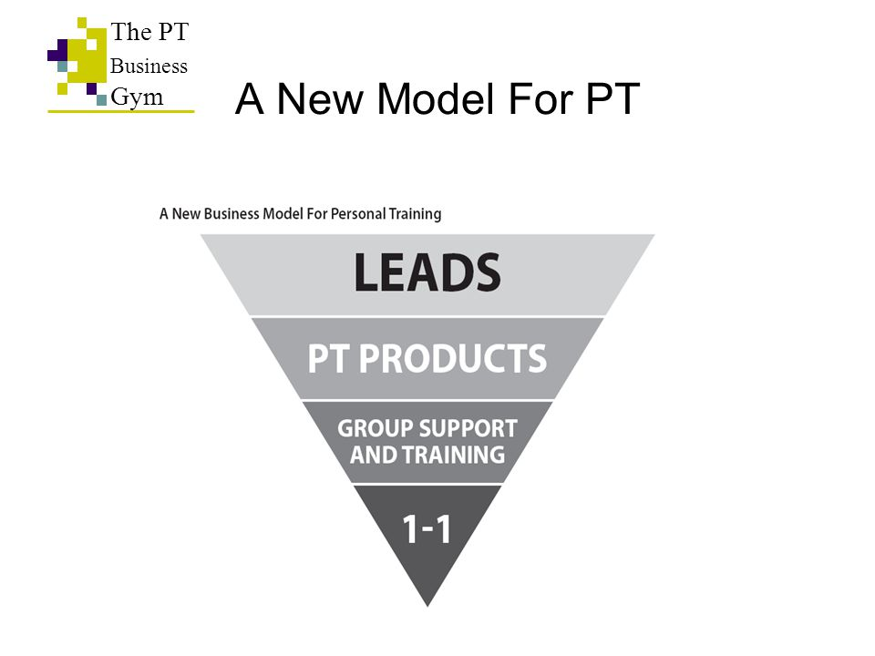 A New Model For PT The PT Business Gym