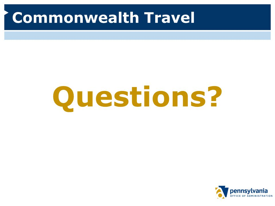 Commonwealth Travel Questions