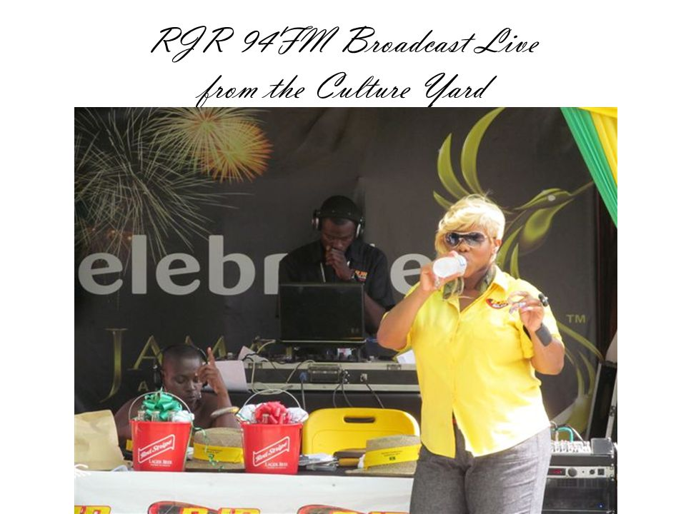 RJR 94FM Broadcast Live from the Culture Yard