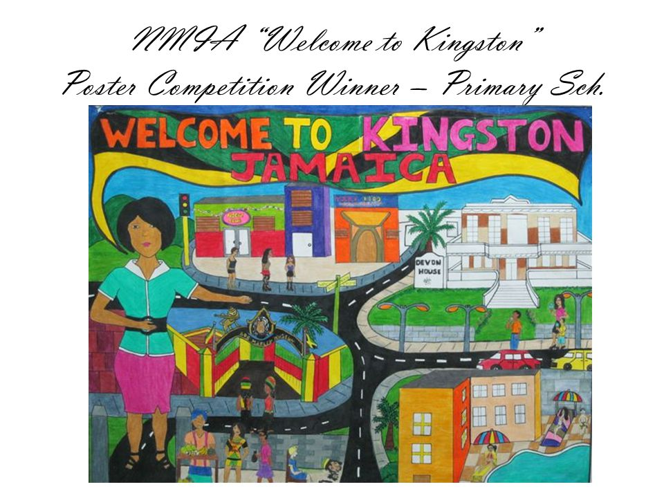 NMIA Welcome to Kingston Poster Competition Winner – Primary Sch.
