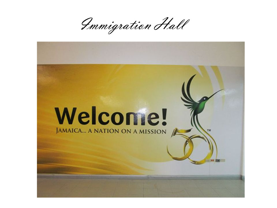 Immigration Hall