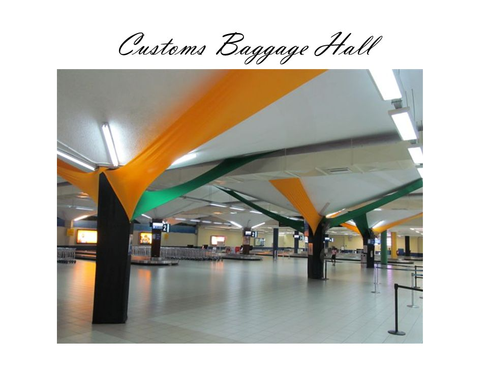 Customs Baggage Hall