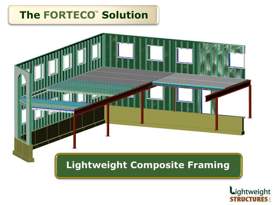 The FORTECO Solution Lightweight Composite Framing TM