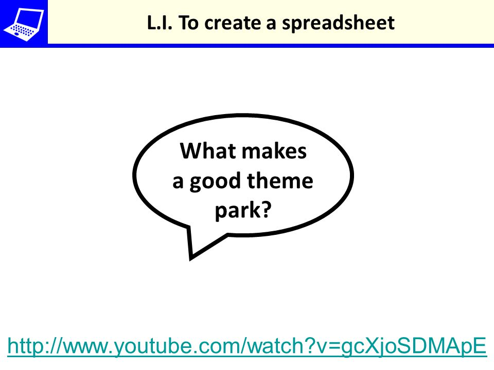 What makes a good theme park. L.I.