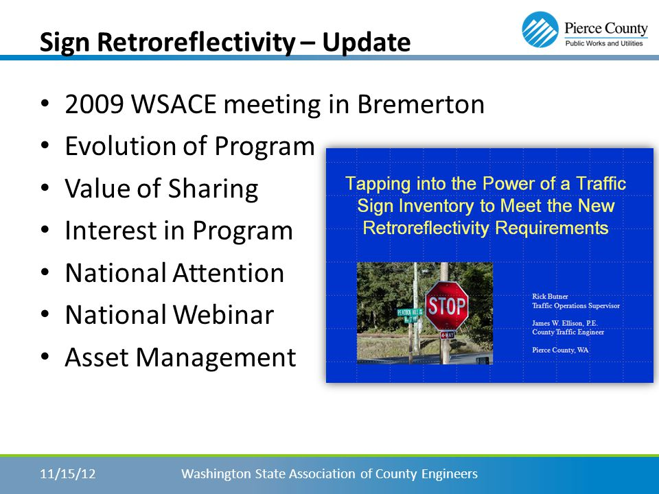 NW Traffic Alliance - Web Site Washington State Association of County Engineers11/15/12 www.nwtrafficalliance.com