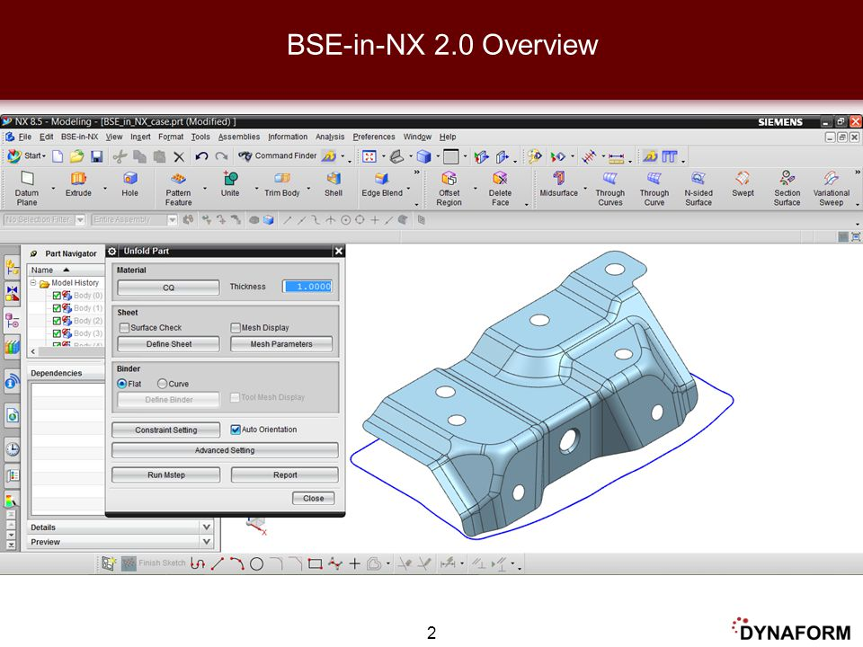 2 BSE-in-NX 2.0 Overview