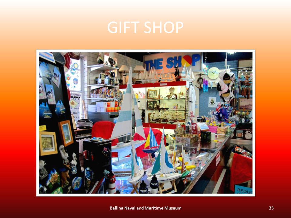 GIFT SHOP Ballina Naval and Maritime Museum33