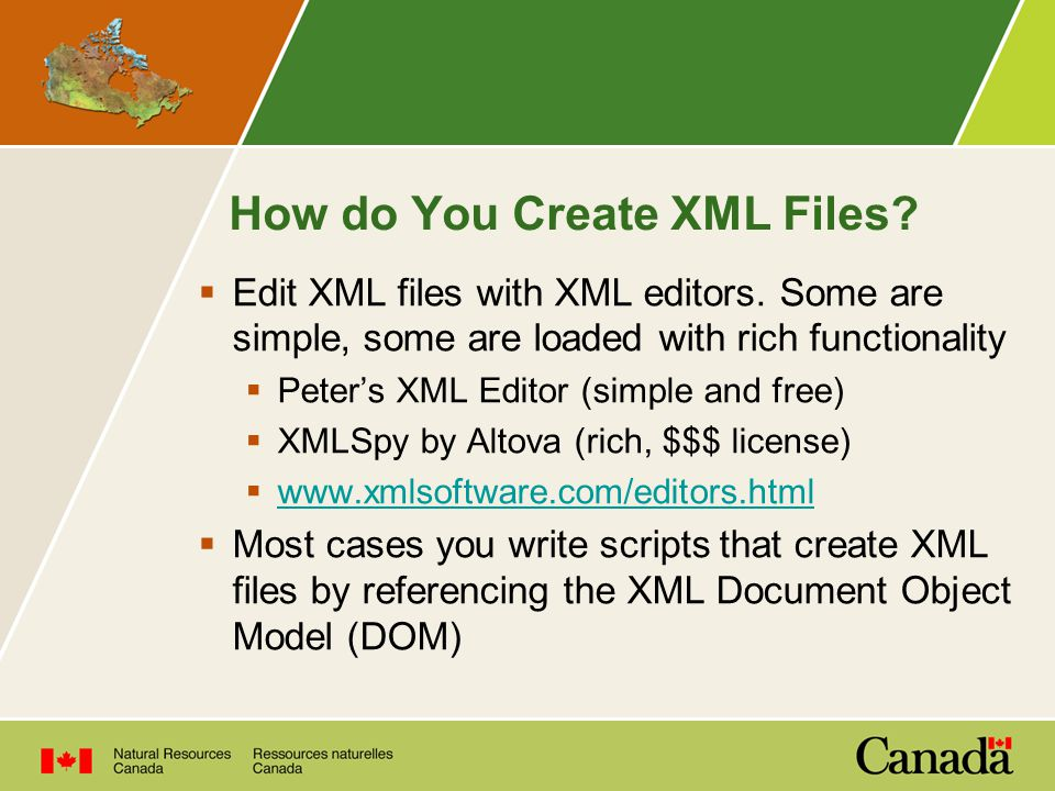 How do You Create XML Files.  Edit XML files with XML editors.