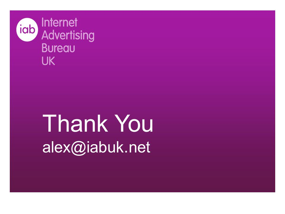 Thank You alex@iabuk.net