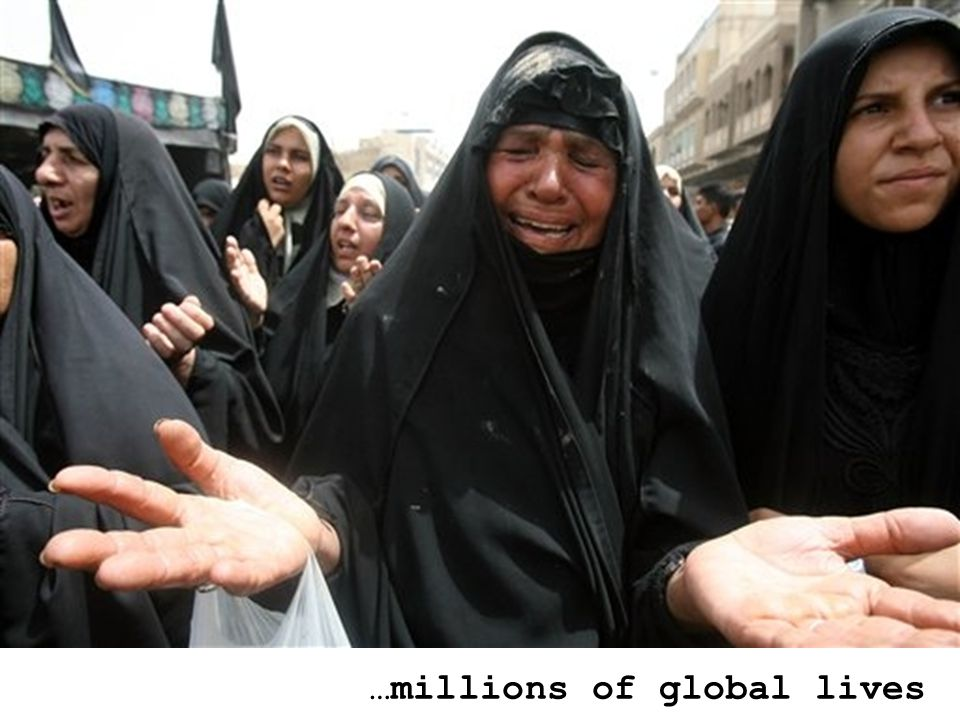 …millions of global lives