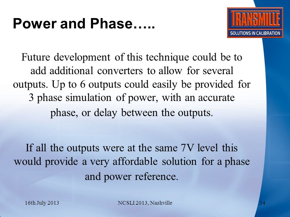 Power and Phase…..