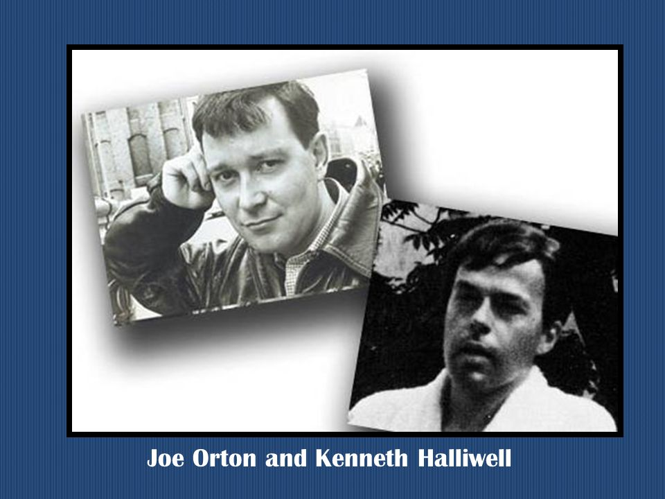 Joe Orton and Kenneth Halliwell