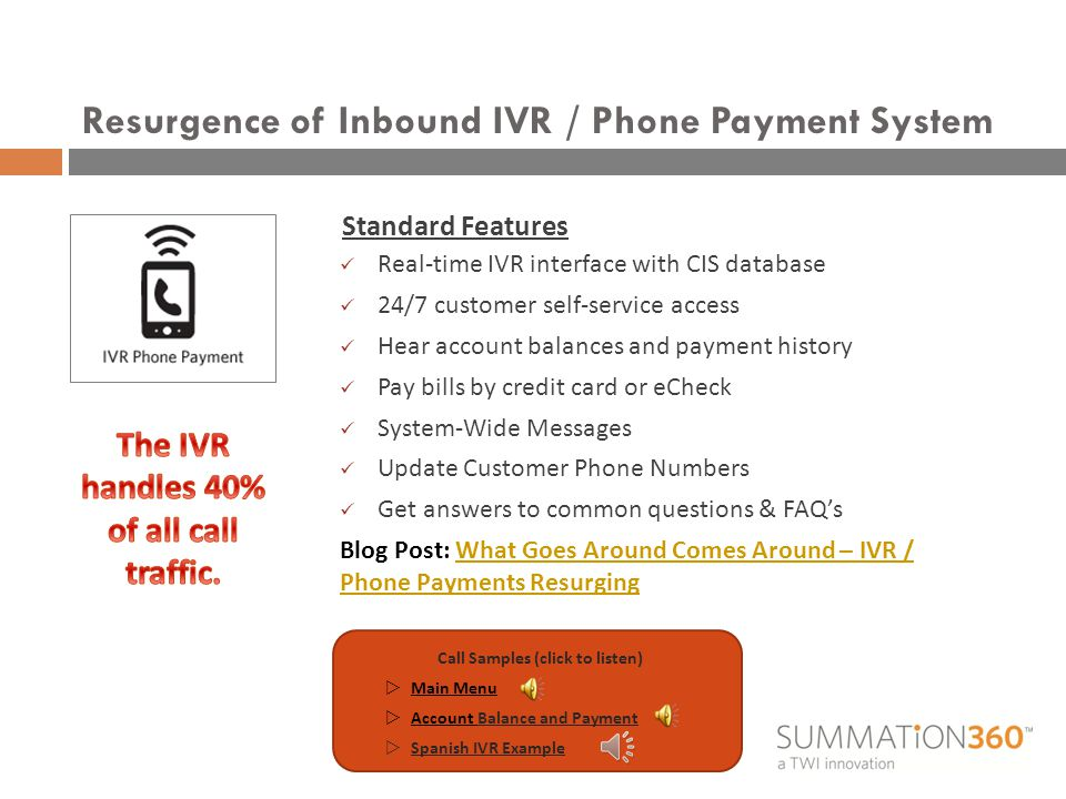 The all-in-one billing and payment solution.