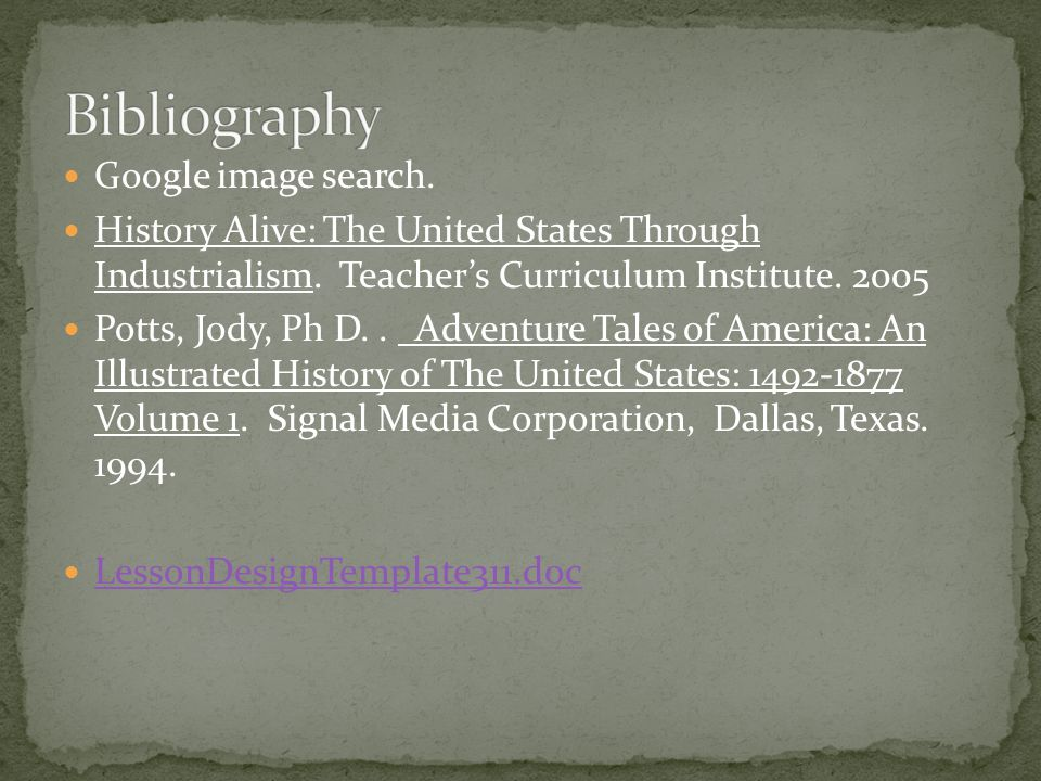 Google image search. History Alive: The United States Through Industrialism.
