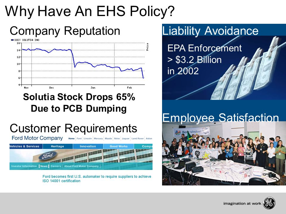 Why Have An EHS Policy.