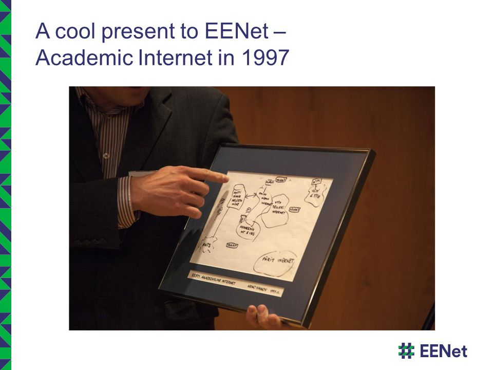 A cool present to EENet – Academic Internet in 1997