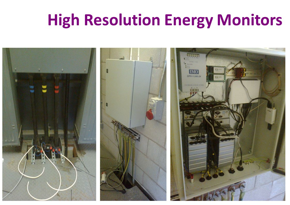 High Resolution Energy Monitors