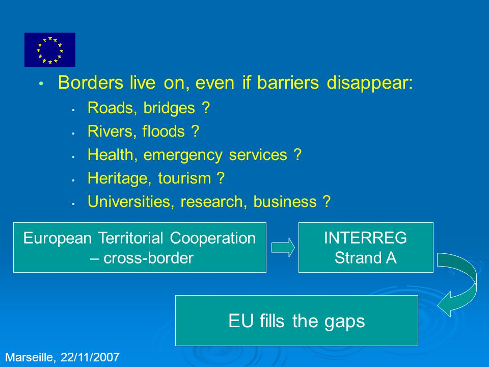 Borders live on, even if barriers disappear: Roads, bridges .