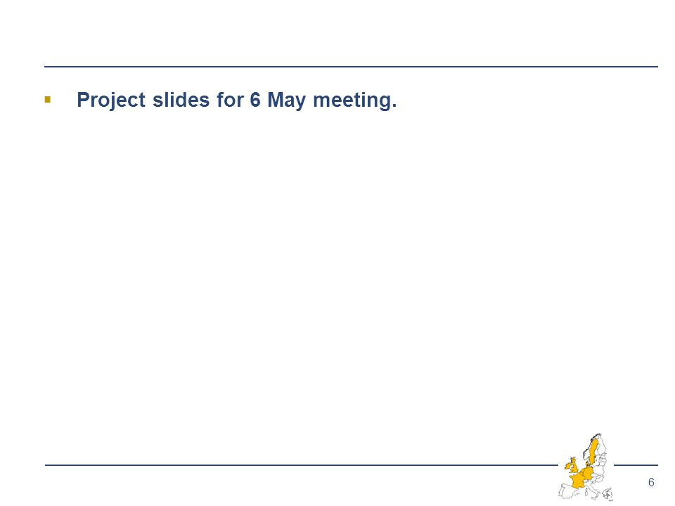 6  Project slides for 6 May meeting.