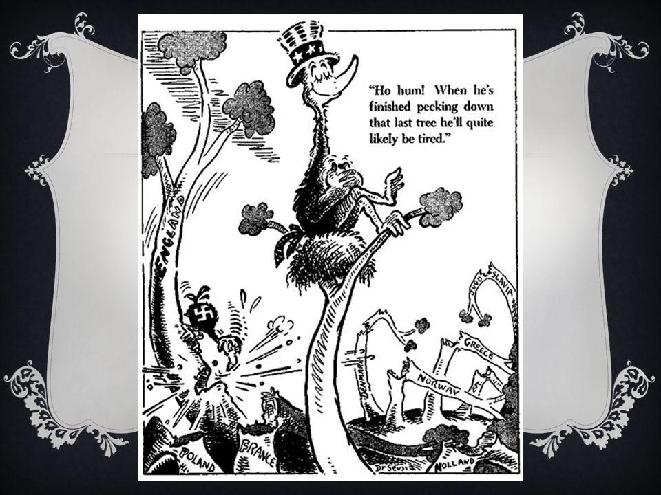 The World War II Editorial Cartoons of Theodore Seuss Geisel