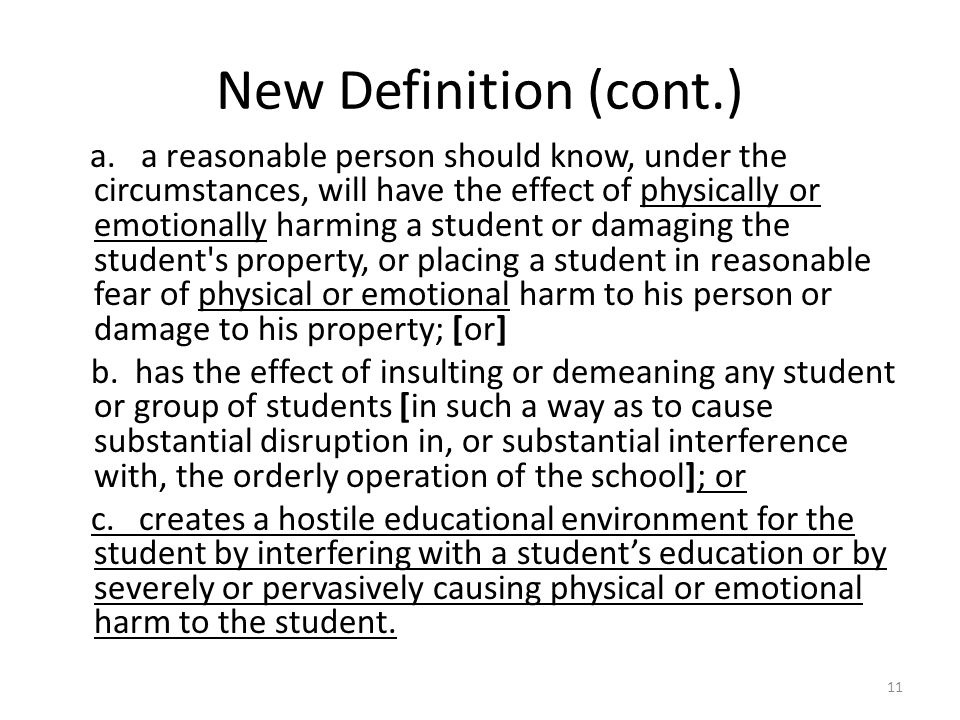New Definition (cont.) a.