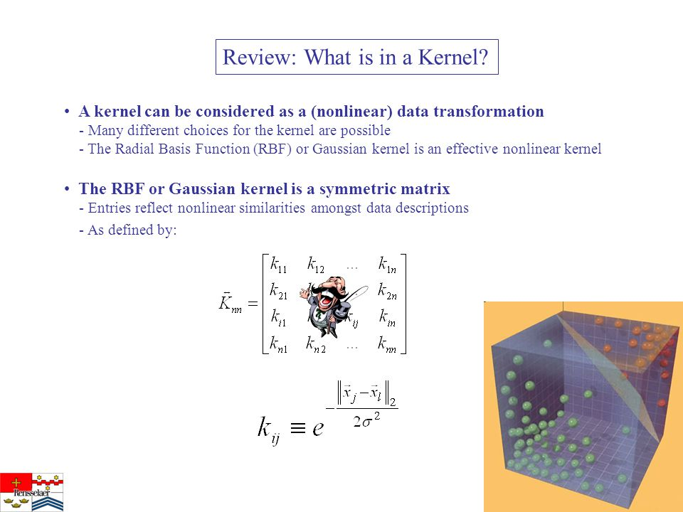 Review: What is in a Kernel.