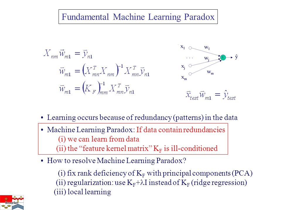 Fundamental Machine Learning Paradox How to resolve Machine Learning Paradox.