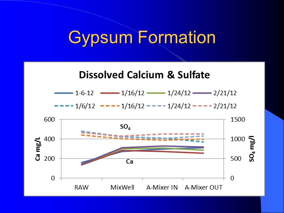 Gypsum Formation Ca SO 4
